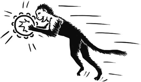 Noisy monkey