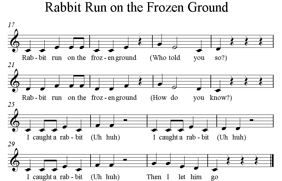 Rabbit Run C major